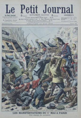 paris 1er mai 1906